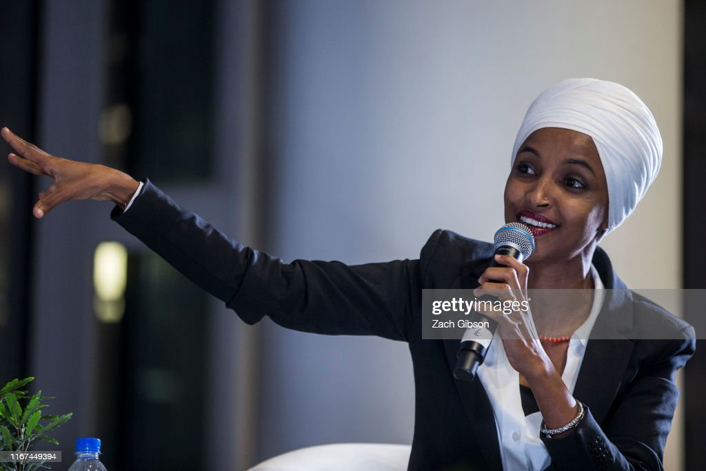 """Four Congresswomen Known As """"The Squad""""  Participate In NAACP Town Hall : News Photo"""