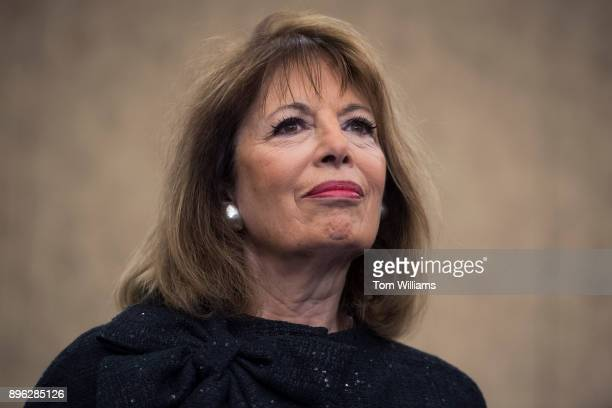 Rep Jackie Speier DCalif attends a news conference in the Capitol on December 20 on CHIP which has yet to be reauthorized The Democratic Women's...