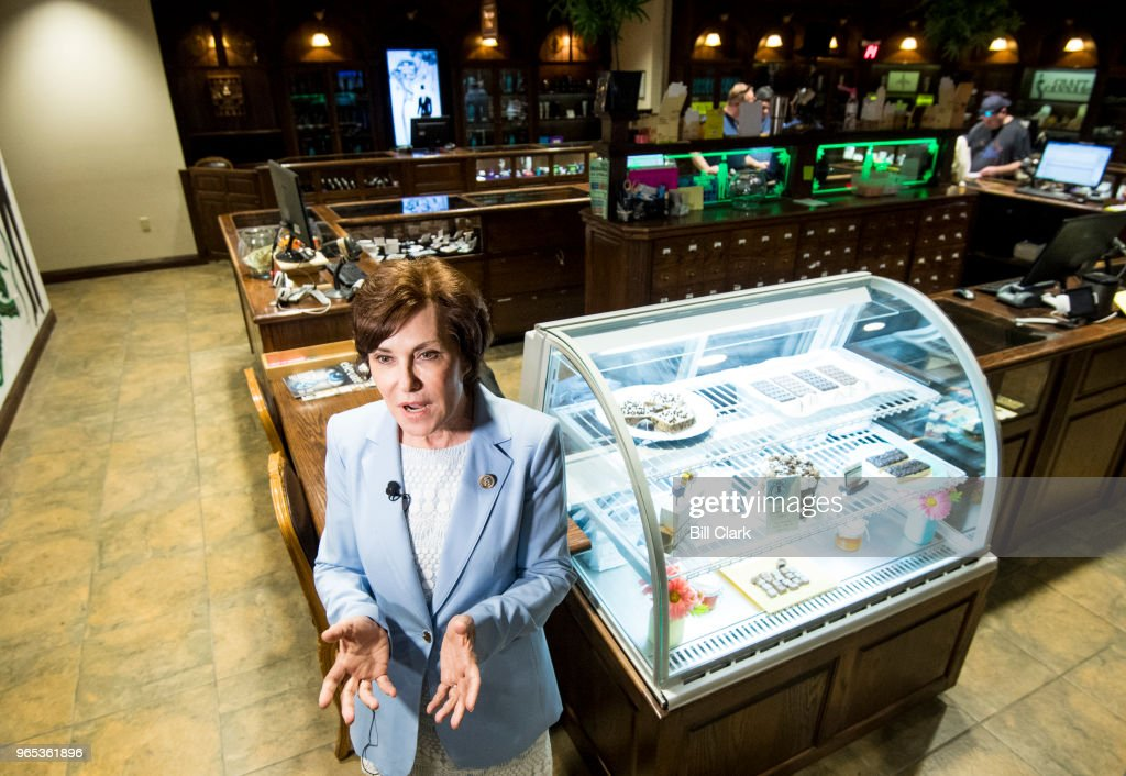 Rep. Jacky Rosen Dispensary Tour : News Photo