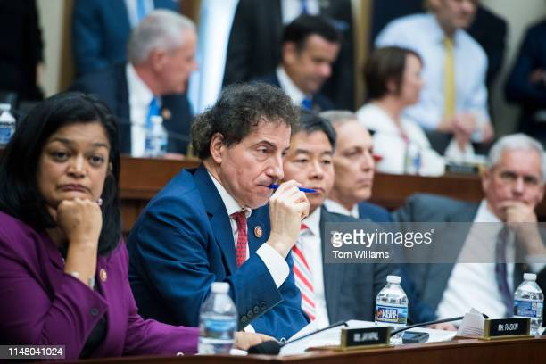 Rep. Jamie Raskin, D-Md., is seen during a House Judiciary Committee markup in Rayburn Building on Wednesday, May 8 to vote on whether to hold...
