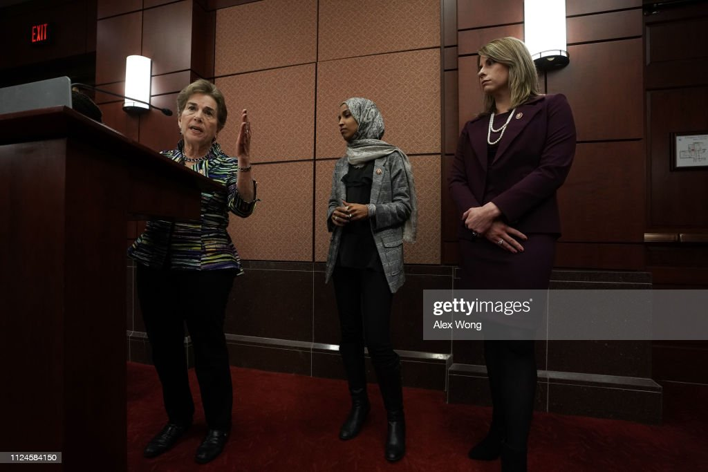 Rep. Ilhan Omar (D-MN) Introduces Bill To Aid In Childcare Cost For Federal Workers Affected By Shutdown : News Photo