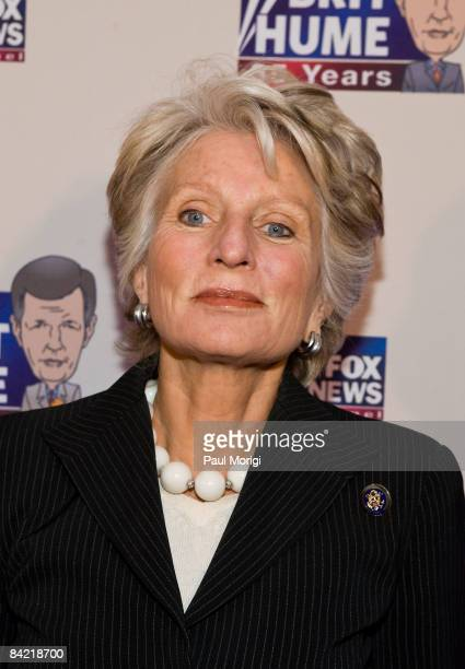 Rep Jane Harmon attends salute to Brit Hume at Cafe Milano on January 8 2009 in Washington DC