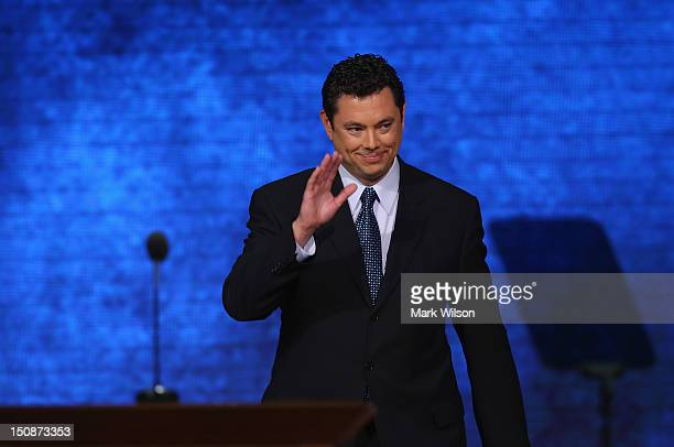 S Rep Jason Chaffetz during the Republican National Convention at the Tampa Bay Times Forum on August 28 2012 in Tampa Florida Today is the first...