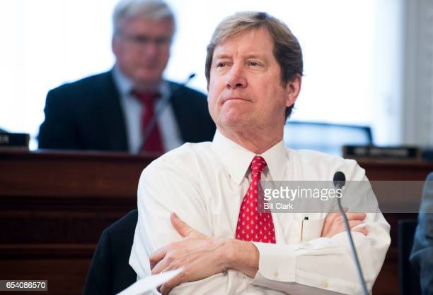 Rep Jason Lewis RMinn participates in the House Budget Committee markup hearing on the GOP health care reconciliation legislation on Thursday March...