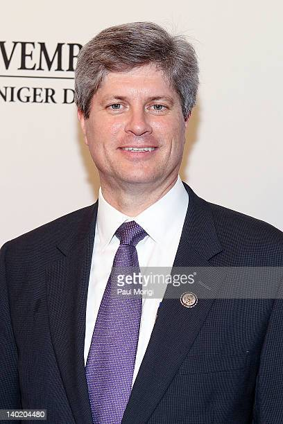 Rep Jeff Fortenberry attends the 'Black November' film screening at The Library of Congress on February 29 2012 in Washington DC