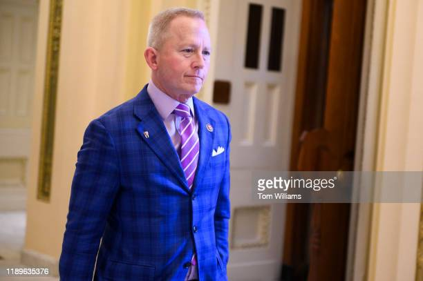 Rep Jeff Van Drew DNJ is seen in the Capitol during procedural votes related to the articles of impeachment on Wednesday December 18 2019