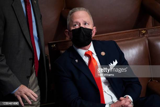 Rep. Jeff Van Drew, R-N.J., attends the joint session of Congress to certify the Electoral College votes of 2020 presidential election in the House...