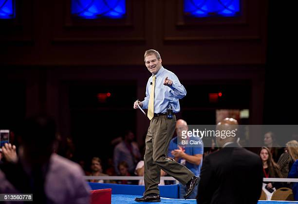 Rep. Jim Jordan, R-Ohio, speaks at the American Conservative Union's CPAC conference at National Harbor in Oxon Hill, Md., on Thursday, March 3, 2016.