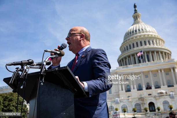 Rep. Jim McGovern speaks during the Global Climate Strike rally at the U.S. Capitol on September 20, 2019 in Washington, DC. Thousands of people...