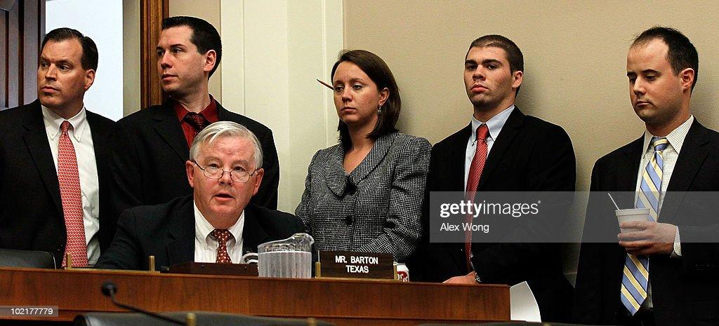 BP CEO Tony Hayward Testifies Before House Hearing On Oil Spill