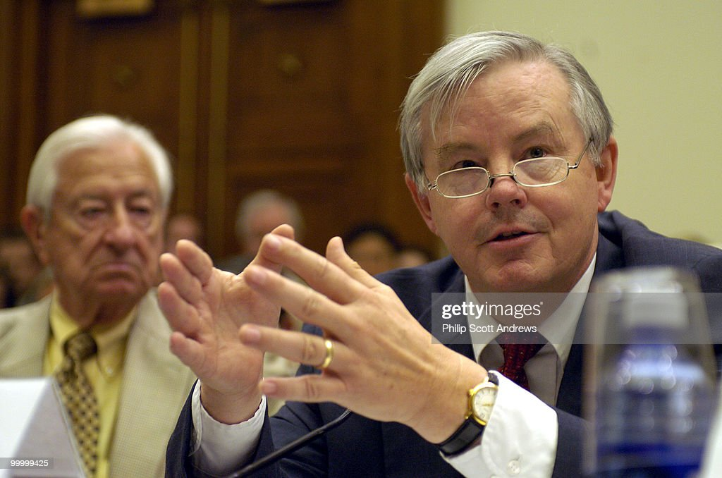 Rep. Joe Barton, R-Tex, speaks during an Aviation Subcommittee hearing on 'Reforming the Wright Amendment.' an amendment that limits air traffic from Dallas' Love Field Airport.