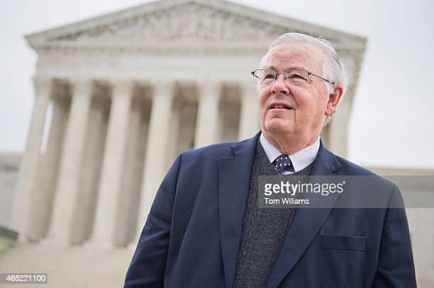 Rep Joe Barton RTexas attends a rally outside of the Supreme Court during arguments in the King v Burwell case which deals with tax credits in the...