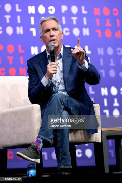 Rep Joe Walsh speaks onstage during the 2019 Politicon at Music City Center on October 26 2019 in Nashville Tennessee