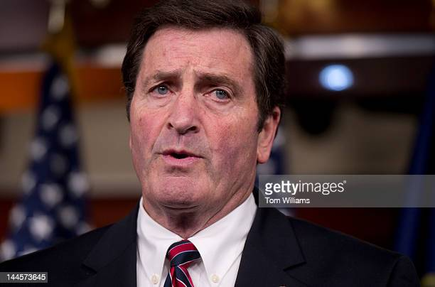 Rep John Garamendi DCalif speaks at a news conference in the Capitol Visitor Center on the SmithAmash Amendment to the FY2013 National Defense...