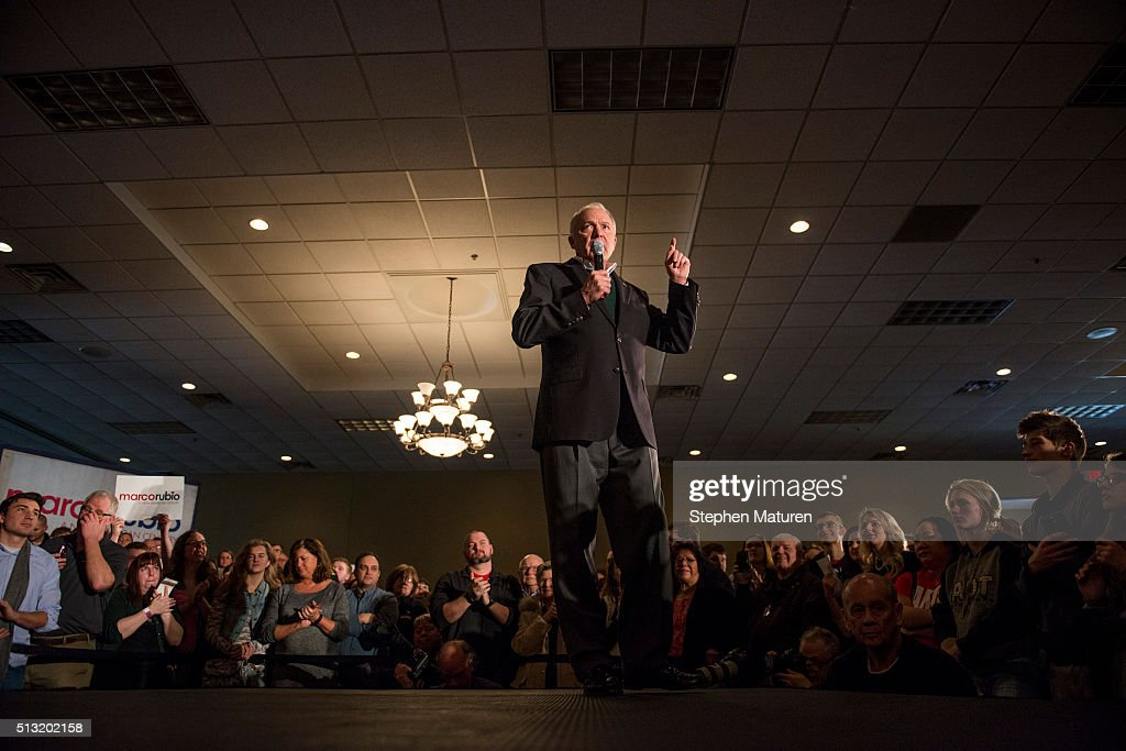 Marco Rubio Holds Super Tuesday Campaign Rally in Minnesota : News Photo