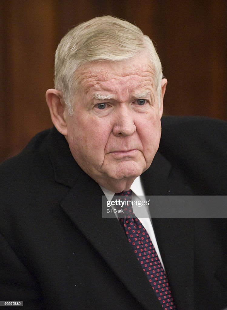 Rep. John Murtha, D-Pa., speaks to reporters about Afghanistan during a pen and pad session in the U.S. Capitol on Wednesday, Dec. 2, 2009.
