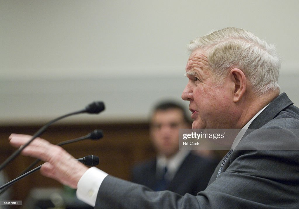 Rep. John Murtha, D-Pa., testifies during the House Foreign Affairs Committee hearing on 'Proposed Legislation on Iraq' on Tuesday, March 20, 2007.
