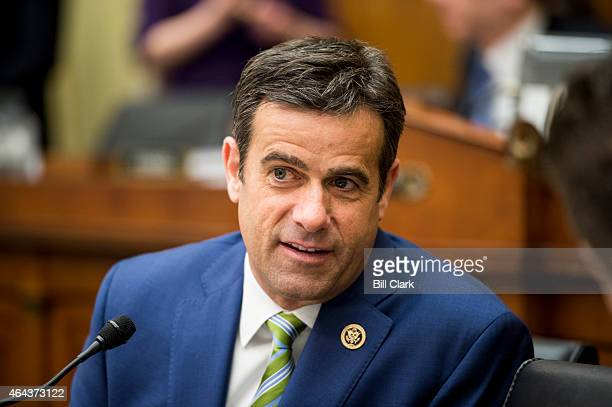 Rep John Ratcliffe RTexas speaks with fellow committee members during the House Judiciary Committee hearing on The Unconstitutionality of Obama's...