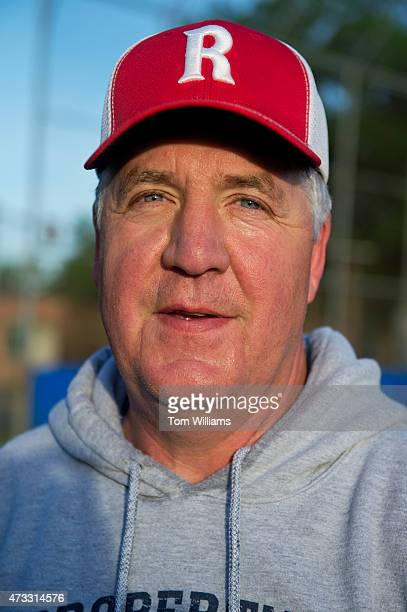 Rep John Shimkus RIll attends Republican baseball practice in Alexandria Va May 14 2015