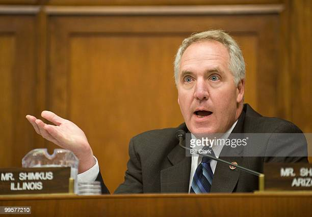 Rep John Shimkus RIll speaks during the House Energy and Commerce Committee's Health Subcommittee hearing on Breast Cancer Screening Recommendations...