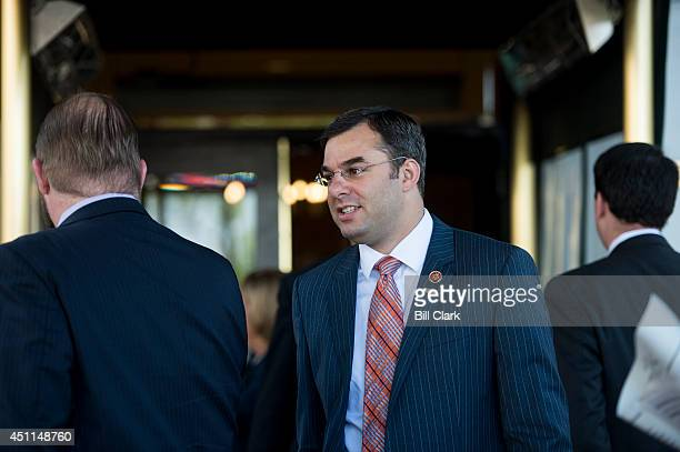 Rep Justin Amash RMich leaves the House Republican Conference meeting at the Capitol Hill Club on Tuesday June 24 2014