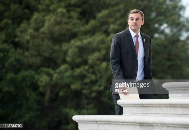 Rep Justin Amash RMich walks up the House steps of the Capitol for the final votes before the Memorial Day recess on Thursday May 23 2019