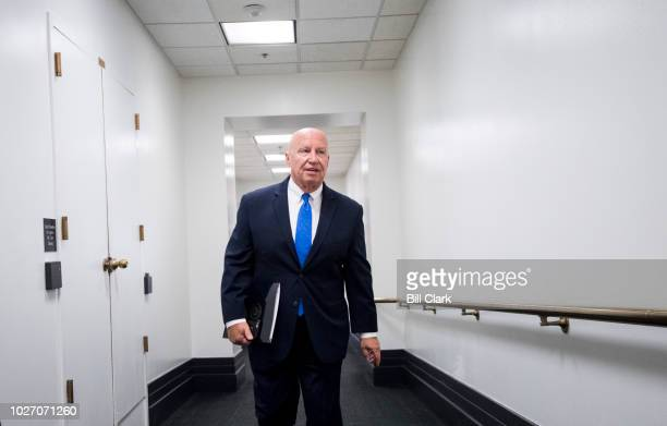 Rep Kevin Brady RTexas arrives for the House Republican Conference meeting in the Capitol on Wednesday Sept 5 2018