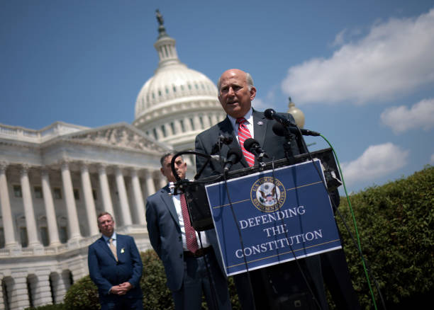 DC: Reps Clyde And Gohmert Hold Press Conference On Capitol Hill