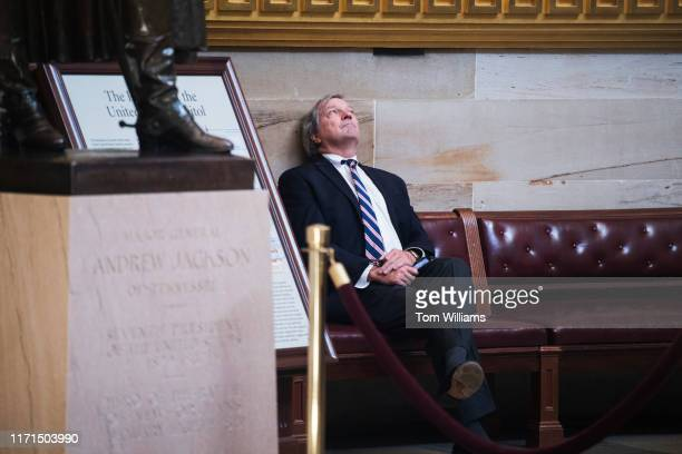 Rep Mark DeSaulnier DCalif is seen in the Capitol Rotunda during the last House votes of the week on Friday September 27 2019