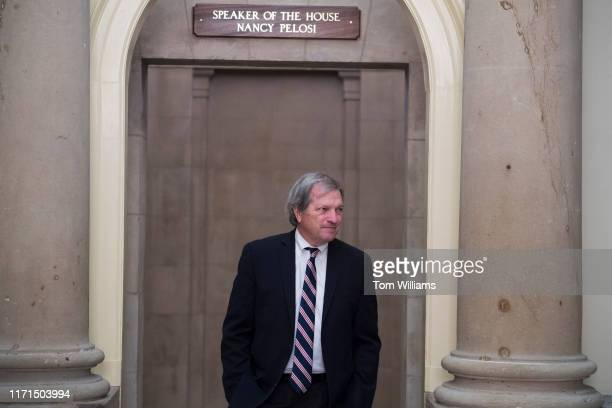 Rep Mark DeSaulnier DCalif leaves the office of Speaker of the House Nancy Pelosi DCalif in the Capitol during the last House votes of the week on...