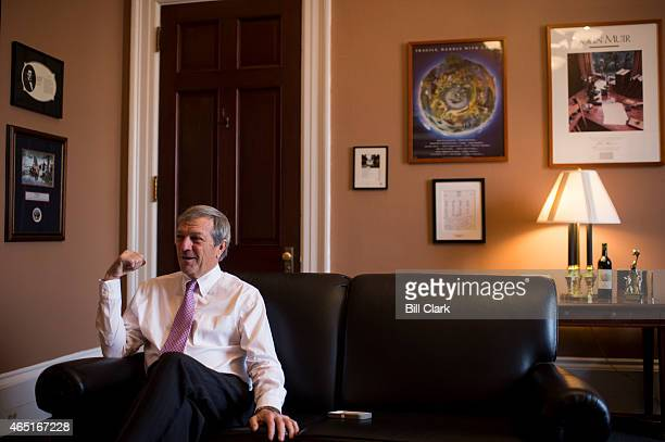 Rep Mark DeSaulnier DCalif speaks with Roll Call in his office in the Cannon House Office Building on Tuesday March 3 2015