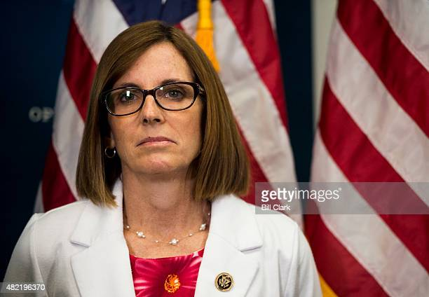 Rep Martha McSally RAriz participates in the House GOP leadership press conference after the House Republican Conference meeting in the Capitol on...