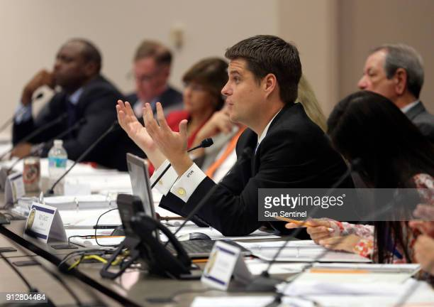 Rep Matt Gaetz heads up a House Criminal Justice Subcommittee hearing in September 2013