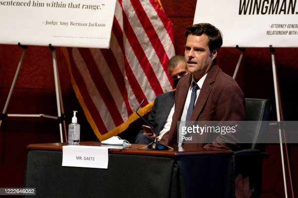 S Rep Matt Gaetz speaks at a hearing of the House Judiciary Committee on at the Capitol Building June 24 2020 in Washington DC Democrats are...