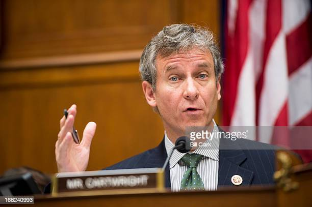 Rep Matthew Cartwright DPa participates in the House Oversight and Government Reform Committee's Economic Growth Job Creation and Regulatory Affairs...