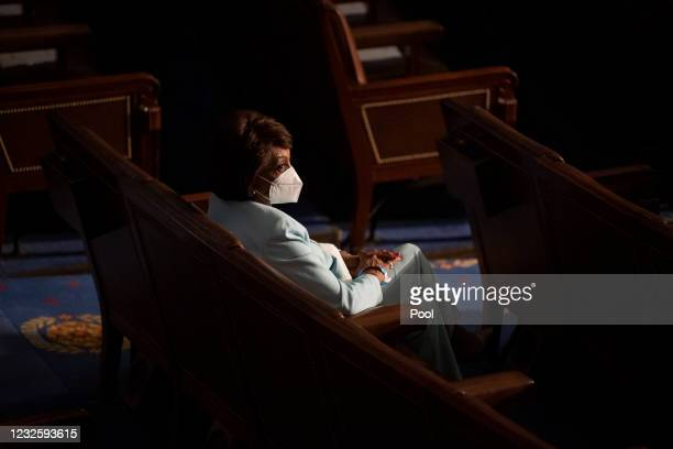 Rep. Maxine Waters, , arrives for President Joe Biden's address to the joint session of Congress in the U.S. Capitol, April 28, 2021 in Washington,...