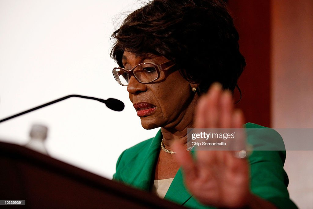Embattled Rep. Maxine Waters  Addresses The Media