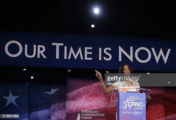 S Rep Mia Love speaks during the Conservative Political Action Conference March 3 2016 in National Harbor Maryland The American Conservative Union...