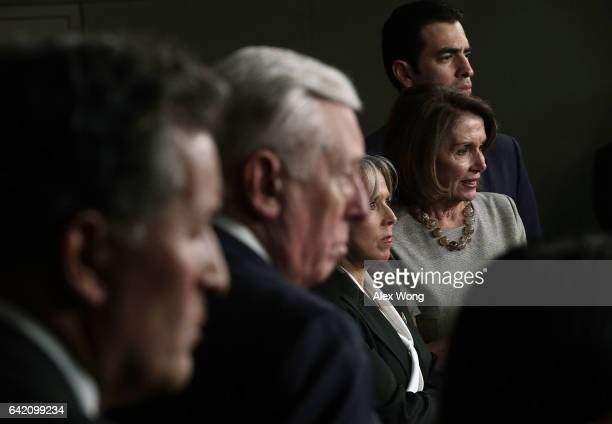 S Rep Michelle Lujan Grisham Chair of Congressional Hispanic Caucus House Minority Leader Rep Nancy Pelosi House Minoriy Whip Rep Steny Hoyer and...
