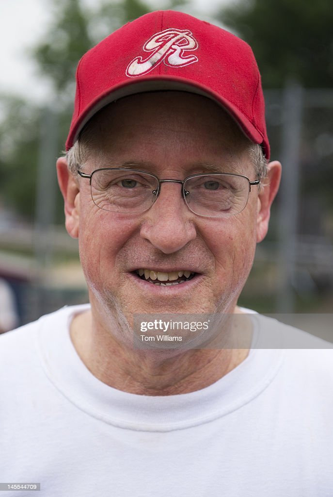 Rep. Mike Conaway, R-Texas, is photographed at a republican baseball practice at Simpson Stadium in Alexandria, Va.