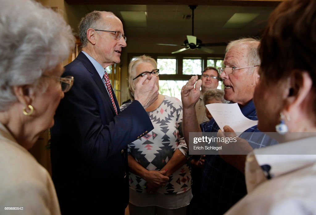 GOP Rep. Mike Conaway Holds Town Hall In Texas