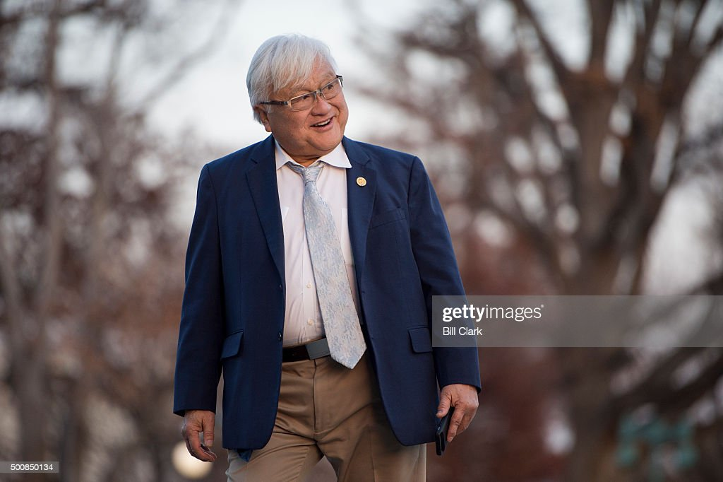 Rep Mike Honda DCalif Walks Up The House Steps To The Capitol For A Series  Of
