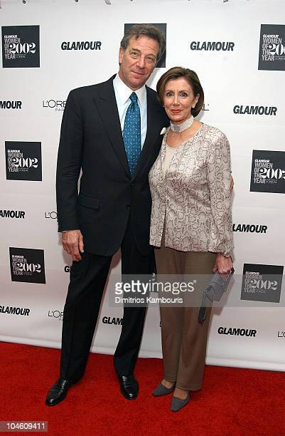 Rep Nancy Pelosi guest during 13th Annual Glamour Magazine's Women of the Year Awards Arrivals at Metropolitan Museum of Art in New York City New...