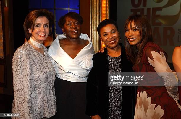 Rep Nancy Pelosi Oral Lee Brown Rep Barbara Lee and Angela Bassett