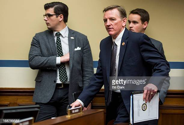 Rep Paul Gosar RAriz arrives for the House Oversight and Government Reform Committee hearing on Benghazi Exposing Failure and Recognizing Courage on...