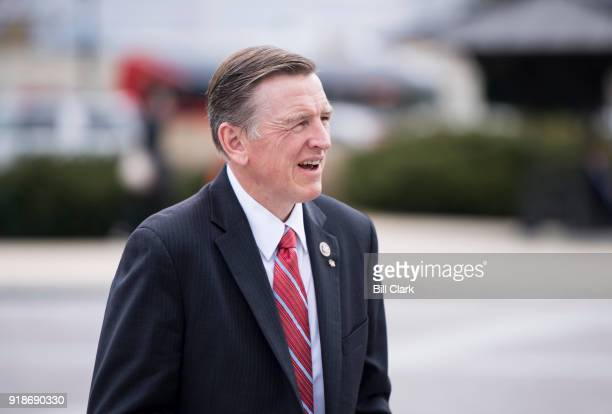 Rep Paul Gosar RAriz walks up the House steps for a vote in the Capitol on Thursday Feb 15 2018