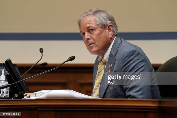 Rep. Ralph Norman is seen hearing to discuss unsustainable drug prices with CEO's of major drug companies on September 30, 2020 in Washington, DC....