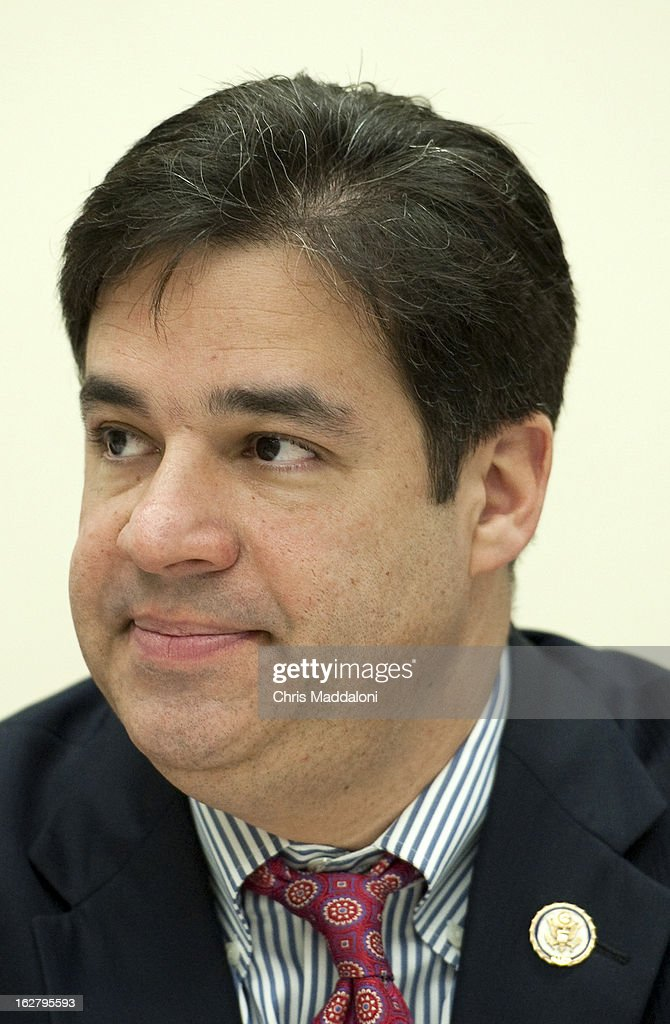 Rep. Raul Labrador, R-Idaho, at the monthly discussion, 'Conversations with Conservatives,' on the 'most important issues of the day with traditional press and bloggers.