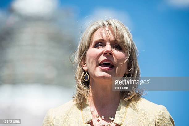 Rep Renee Ellmers RNC participates in the news conference on Food and Drug Administration menu labeling regulations on Tuesday April 28 2015
