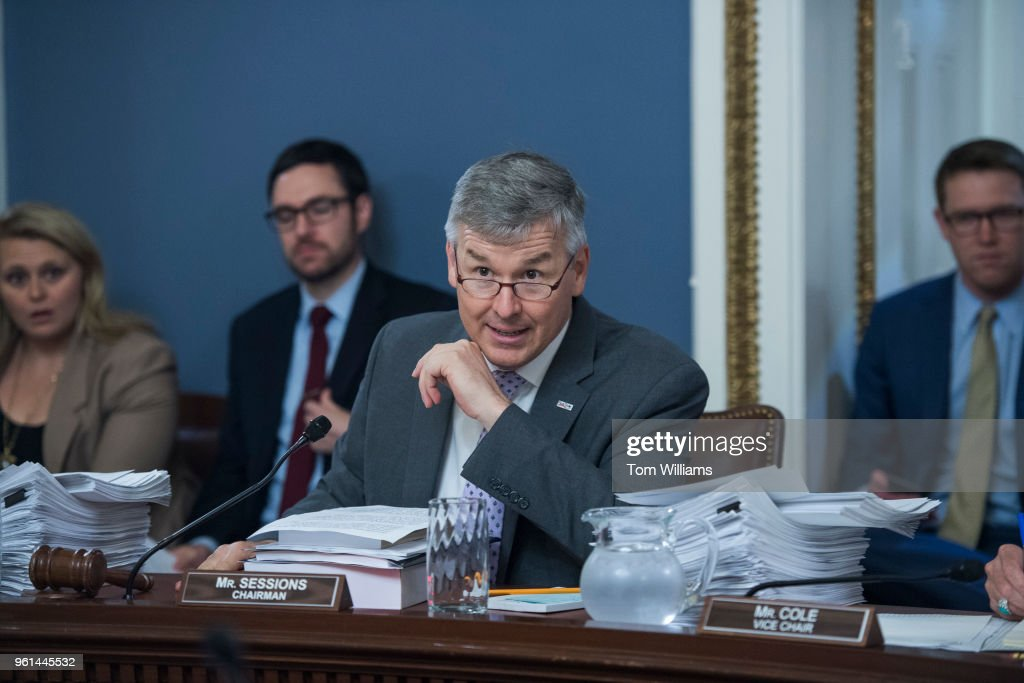 Rob Woodall, R Ga., Conducts A House Rules Committee Hearing